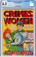 Golden Age (1938-1955):Crime, Crimes by Women #12 (Fox Features Syndicate, 1950) CGC FN+ 6.5 Off-white to white pages....