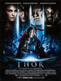"Movie Posters:Action, Thor (Paramount, 2011). Folded, Very Fine/Near Mint. French Grande (46.25"" X 62""). IMAX 3-D Style, Action.. ..."
