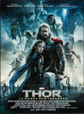 "Movie Posters:Adventure, Thor: The Dark World (Walt Disney Studios, 2013). Folded, Very Fine+. French Grande (46.5"" X 63"") Advance. Adventure.. ..."