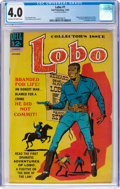 Silver Age (1956-1969):Western, Lobo #1 (Dell, 1965) CGC VG 4.0 Cream to off-white pages....