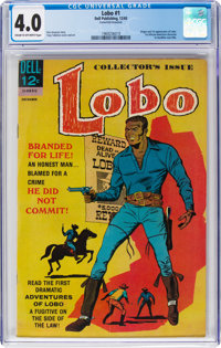 Lobo #1 (Dell, 1965) CGC VG 4.0 Cream to off-white pages