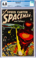 Golden Age (1938-1955):Science Fiction, Spaceman #4 (Atlas, 1954) CGC FN 6.0 Off-white pages....
