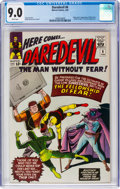Daredevil #6 (Marvel, 1965) CGC VF/NM 9.0 White pages