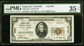 National Bank Notes:Colorado, Saguache, CO - $20 1929 Ty. 2 Saguache County NB Ch. # 9997 PMG Choice Very Fine 35 EPQ.. ...