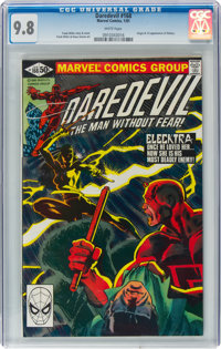 Daredevil #168 (Marvel, 1981) CGC NM/MT 9.8 White pages