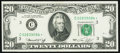 Fr. 2071-C* $20 1974 Federal Reserve Star Note. About Uncirculated