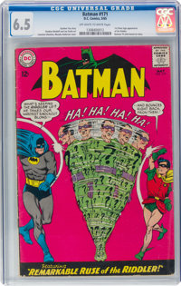 Batman #171 (DC, 1965) CGC FN+ 6.5 Off-white to white pages