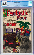 Silver Age (1956-1969):Superhero, Fantastic Four #44 (Marvel, 1965) CGC FN+ 6.5 Off-white to white pages....