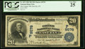 National Bank Notes:Nevada, East Ely, NV - $20 1902 Plain Back Fr. 652 The Copper NB Ch. # (P)9578 PCGS Very Fine 25.. ...
