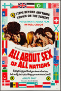 Movie Posters:Adult, All About Sex of All Nations & Other Lot (William Mishkin Motion Pictures Inc., 1971). Folded, Very Fine-. One Sheets (2) (2... (Total: 2 Items)