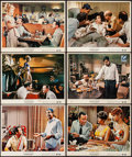 """Movie Posters:Comedy, The Odd Couple (Paramount, 1968). Fine/Very Fine. Color Photo Set of 12 (8"""" X 10""""). Comedy.. ... (Total: 12 Items)"""