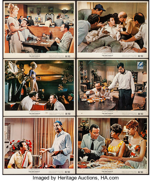 The Odd Couple (Paramount, 1968)  Fine/Very Fine  Color