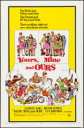 """Movie Posters:Comedy, Yours, Mine and Ours & Other Lot (United Artists, 1968). Folded, Fine/Very Fine. One Sheets (2) (27"""" X 41""""). Frank Frazetta ... (Total: 2 Items)"""