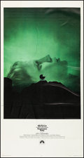 "Movie Posters:Horror, Rosemary's Baby (Paramount, 1968). Very Fine- on Linen. Three Sheet (41"" X 78.25""). Horror.. ..."