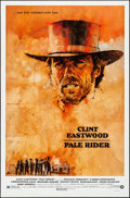 "Movie Posters:Western, Pale Rider (Warner Brothers, 1985). Rolled, Very Fine/Near Mint. One Sheet (27"" X 41"") SS. C. Michael Dudash Artwork. Wester..."