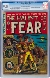 Haunt of Fear #10 (EC, 1951) CGC VF/NM 9.0 Off-white to white pages