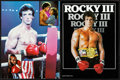 "Movie Posters:Sports, Rocky III (United Artists, 1982). Very Fine+. Programs (6) Identical (22 Pages, 9"" X 12""). Sports.. ... (Total: 6 Items)"