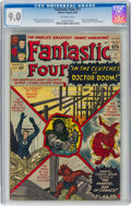 Silver Age (1956-1969):Superhero, Fantastic Four #17 (Marvel, 1963) CGC VF/NM 9.0 Off-white pages....