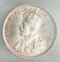 Canada: George V 10 Cents 1931 MS65 ICCS