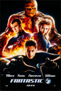 "Movie Posters:Action, Fantastic Four & Other Lot (20th Century Fox, 2005). Rolled, Very Fine. One Sheets (2) (27"" X 40"") DS, Advance, Style B. Act... (Total: 2 Items)"