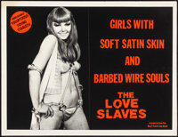 "The Love Slaves (Savant, 1976). Folded, Very Fine-. Posters (4) (20.5"" X 27""). Adult. ... (Total: 4 Items)"