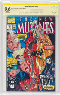 Modern Age (1980-Present):Superhero, The New Mutants #98 Witnessed Signature Series (Marvel, 1991) CBCS NM+ 9.6 White pages....