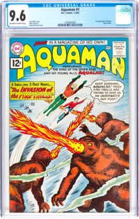 Aquaman #1 (DC, 1962) CGC NM+ 9.6 Off-white to white pages