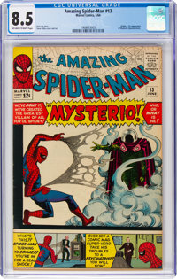 The Amazing Spider-Man #13 (Marvel, 1964) CGC VF+ 8.5 Off-white to white pages