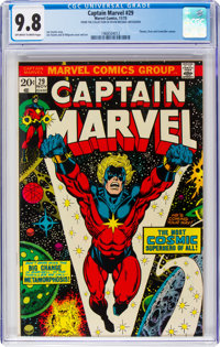 Captain Marvel #29 (Marvel, 1973) CGC NM/MT 9.8 Off-white to white pages