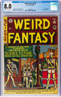 Weird Fantasy #6 (EC, 1951) CGC VF 8.0 Off-white to white pages