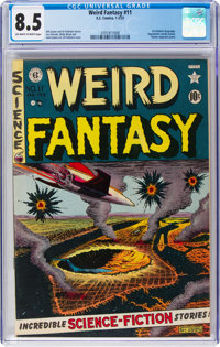 Weird Fantasy #11 (EC, 1952) CGC VF+ 8.5 Off-white to white pages