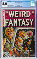 Golden Age (1938-1955):Science Fiction, Weird Fantasy #16 (EC, 1952) CGC VF 8.0 Off-white to white pages....