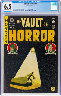 Vault of Horror #16 (EC, 1950) CGC FN+ 6.5 Off-white to white pages