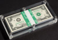 Pack of 100 with Solid 5 Serial Fr. 1938-L $2 2003A Federal Reserve Notes. Pack of 100. ... (Total: 100)