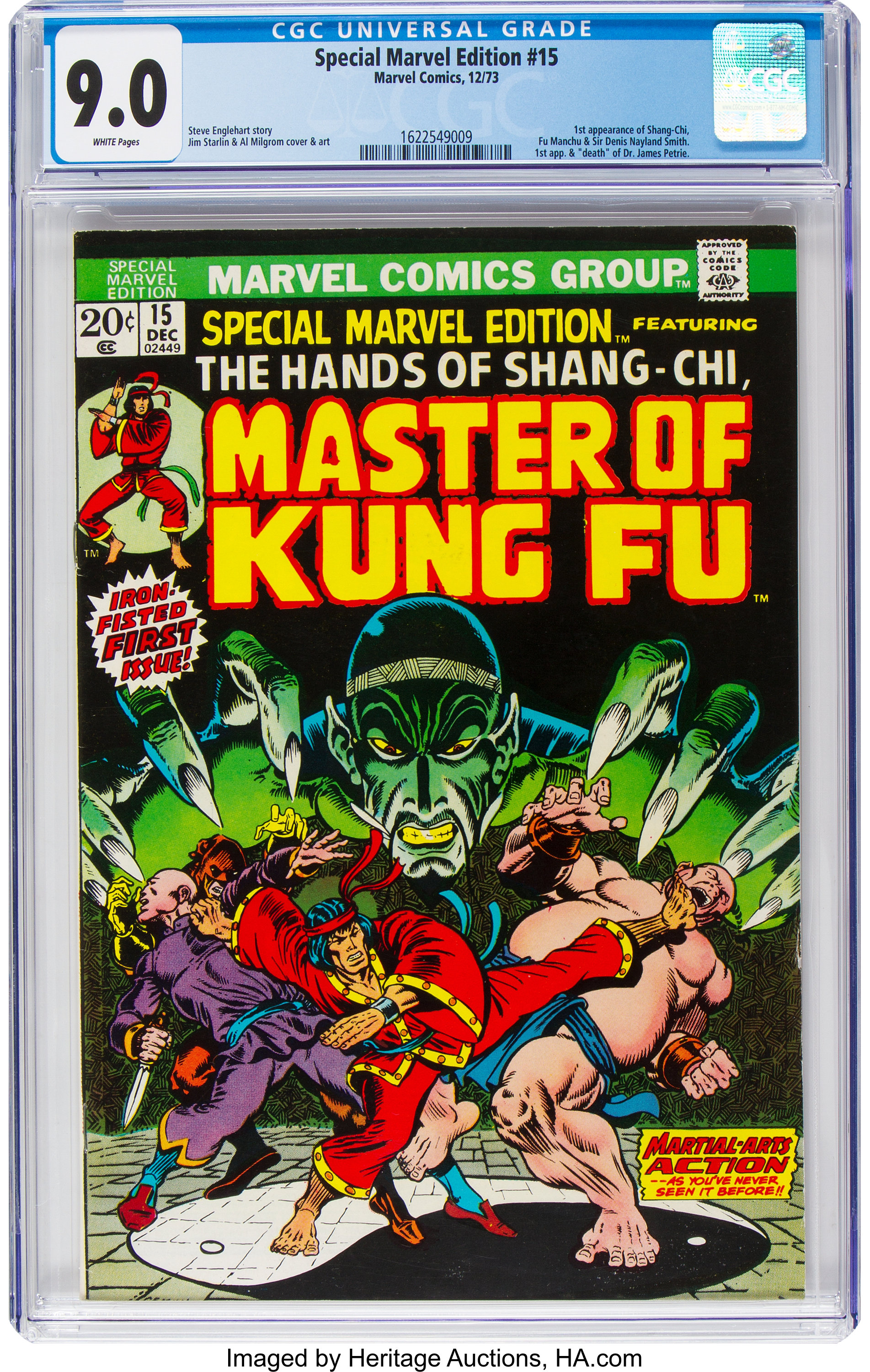 Master of Kung Fu Issue 95! Marvel Comics Group