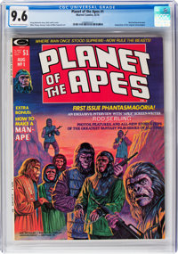 Planet of the Apes #1 (Marvel, 1974) CGC NM+ 9.6 Off-white to white pages