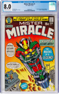 Bronze Age (1970-1979):Superhero, Mister Miracle #1 (DC, 1971) CGC VF 8.0 Off-white to white pages....
