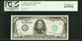 Small Size:Federal Reserve Notes, Fr. 2211-A $1,000 1934 Federal Reserve Note. PCGS Superb Gem New 67PPQ.. ...