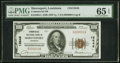 National Bank Notes:Louisiana, Shreveport, LA - $100 1929 Ty. 1 Commercial NB Ch. # 13648 PMG Gem Uncirculated 65 EPQ.. ...