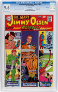 Silver Age (1956-1969):Superhero, Superman's Pal Jimmy Olsen #104 Winnipeg Pedigree (DC, 1967) CGCNM+ 9.6 White pages....