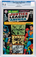 Silver Age (1956-1969):Superhero, Justice League of America #58 Don/Maggie Thompson CollectionPedigree (DC, 1967) CGC NM+ 9.6 White pages....