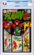 Silver Age (1956-1969):Superhero, The Flash #178 (DC, 1968) CGC NM+ 9.6 Off-white to white pages....