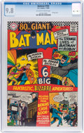 Silver Age (1956-1969):Superhero, Batman #182 (DC, 1966) CGC NM/MT 9.8 Off-white to white pages....