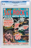 Bronze Age (1970-1979):War, Our Army at War #216 Don/Maggie Thompson Collection Pedigree (DC, 1970) CGC NM+ 9.6 White pages....