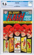 Silver Age (1956-1969):Superhero, The Flash #169 (DC, 1967) CGC NM+ 9.6 Off-white to white pages....