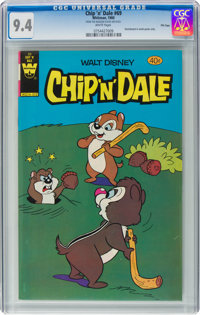 Chip 'n' Dale #69 File Copy (Whitman, 1980) CGC NM 9.4 White pages
