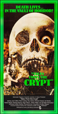 "Tales from the Crypt (CIC, 1972). Folded, Very Fine. British Three Sheet (39.75"" X 78.5""). Horror"