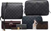 Louis Vuitton Set of Eight: Four Travel Cases, Two Wallets & Two Keychains Condition: 3 See Exten... (Total: 9)