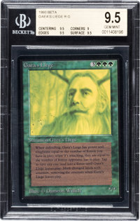 Magic: The Gathering Gaea's Liege Beta Edition BGS Graded 9.5 (Wizards of the Coast, 1993)
