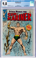 Silver Age (1956-1969):Superhero, The Sub-Mariner #1 (Marvel, 1968) CGC NM/MT 9.8 White pages....